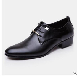 Wholesale ups trade - 2018 new style English business suits young men's shoes to work leisure shoes foreign trade oversize men's shoes 38-48