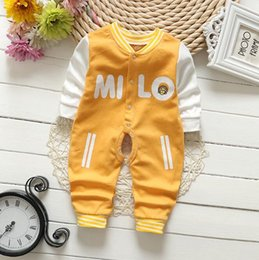 Wholesale Cheap Baby Supplies - Baby one-piece romper China cheap supply infant clothing 100% cotton