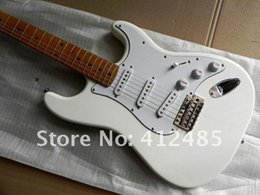 Wholesale factory st - factory sellers Wholesale 2013 New ST mahogany High Quality White Stratocaster Electric Guitar