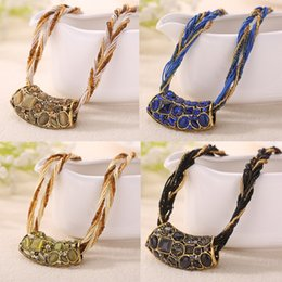 ожерелье аксессуары для женщин Скидка High Quality women Necklace Bohemian Statement Necklaces Pendants Trendy Jewelry  Necklace Women Accessories For Gift