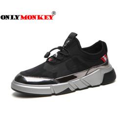 f12d2146da16b ONLYMONKEY Hombres Zapatos para correr de peso ligero con cordones Zapatos  de deporte para hombre de alta calidad Zapatillas de deporte de  entrenamiento al ...