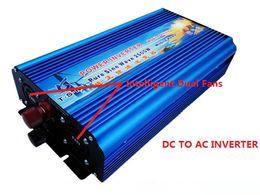 Wholesale 24v Solar Inverter Off Grid - 2500W peak power 5000W pure sine wave solar power inverter DC 12V 24V to AC 110V 220V 230V off grid inverter