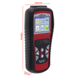 Wholesale Nissan Bags - KONNWEI KW830 OBDII 12V Multi-languages Automobile Diagnostic Scanner with Black Bag Support Detection Battery for 12V Gasoline Car CDT_00V