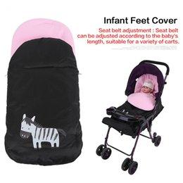 Wholesale Feet Sleeping - Cartoon Envelope Baby Sleeping Bag Baby Sleep Sacks Infant Feet Cover for Stroller Bag Warm Winter Thicken bed Sleeping