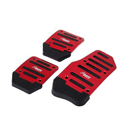Wholesale Gas Clutch - 2pcs Car Vehicle Non-slip Gas Brake Treadle Clutch Pedal Foot Treadle Cover Pad Manual Pedals