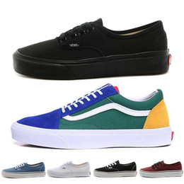 d8c7947873e6 new vans sneakers Rabatt 2018 New VANS Laufschuhe Old Skool Authentic Low  Herren Damen Klassisch Designer