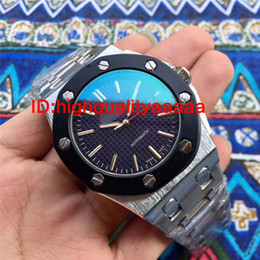 Wholesale Free Dive Watch - Free shipping high quality swiss brand watches for men big size 45mm dive watch Stainless steel strap Brand men's