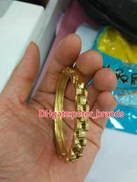 braccialetto in oro smeraldo Sconti Bracciale da uomo in acciaio inossidabile, in argento 925, con cinturino alla moda in stile lusso, circa 19 cm arrivi freschi 2018