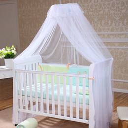 Deckennetz online-Neue Ankunft Runde Kleine Floral Dome Bettüberdachung Netting Prinzessin Moskitonetz Palace Decke Runde Boden Stehen Netze