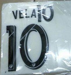 Wholesale Names Galaxies - Carlos Vela LAFC 2018 home and away name sets Ibrahimovic LA Galaxy home and away fast shipping