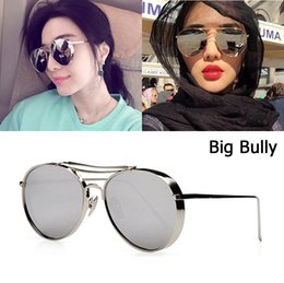 0608ddf7526 JackJad 2018 New Fashion Big Bully Aviation Style Sunglasses Women Men Brand  Design Thick Metal Frame Sun Glasses Oculos De Sol