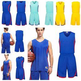 Wholesale american football jerseys wholesale - Men' Basketball Suits adult basketball Training Jerseys male Breathable comfortable soft Basketball Running sleeveless uniforms KKA5069