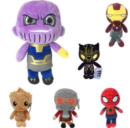 25 cm homem árvore Groot recheado de pelúcia boneca superhero anime toy o melhor presente para crianças brinquedos de pelúcia de