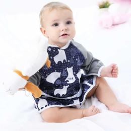 borsette per bambini Sconti Happy flute PUL Baby impermeabile manica lunga bavaglino bavaglini inodore per 6-24 mesi