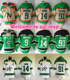 Wholesale Red Star Hoody - High Quality Dallas Stars Hoodie Pullover 14 Jamie Benn 91 Tyler Seguin Hoody, Mike Modano, Patrick Sharp Stitched Hockey Hoodie Sweatshirt