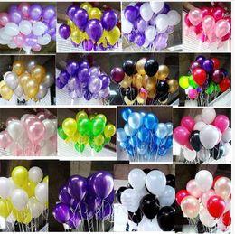 Heißer verkauf 100 stücke 10 zoll 1,8g geburtstag / hochzeit versorgung latex luftballons bunte party latex luftballon / ballon kinder aufblasbares spielzeug von Fabrikanten