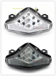 Wholesale Er 6n - For KAWASAKI ER-6N ER-6F NINJA 650R 2012 2013 2014 2015 2016 Motorcycle Integrated LED Tail Light Turn signal Blinker Lamp Assembly