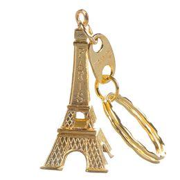 passeios chave Desconto Clássico Retro Torre Eiffel Chaveiro Lembranças Paris Tour Chave Chians Vintage Titular Anel Decoração Presentes Frio / Bronze / Prata