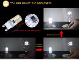 2019 светодиодные лампы накаливания 10pcs Dimmable 110V 220V G9 LED кукуруза лампа 64 светодиодов прожектор лампы заменить 20 Вт 30 Вт галогенная лампа для люстры свеча