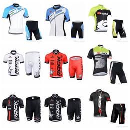 Wholesale cycling dry rock - SIDI ROCK RACING team Cycling Short Sleeves jersey shorts sets High Quality Short Sleeve Mens Cycling Clothing F52102