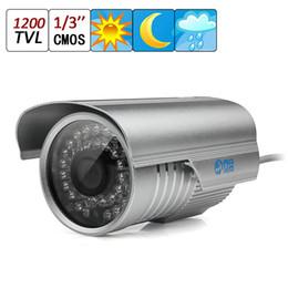 Wholesale Ccd Homes - Jooan 1200TVL CCTV Surveillance Home Security Waterproof Outdoor Day Night 36IR Camera Night Vision 3.6mm CCT_118