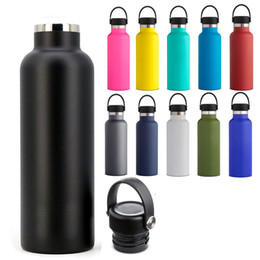 Canada 18oz 350ML Stainless Steel Vacuum Insulated Water Bottles New Double Wall Leak Sports Flask Mug Cup Mouth Lid Cap Cups Offre