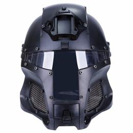 casco del ejército del airsoft Rebajas Deportes al aire libre Combat Airsoft Paintball Casco táctico CS Tactical gear Lado lateral NVG Shroud Transfer Base 6 colores