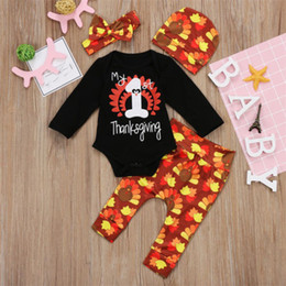 9d768bb8e thanksgiving baby outfits 2019 - Thanksgiving Newborn Baby Girl Clothes  Long Sleeve Letter Print Romper Turkey