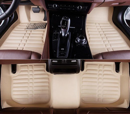 Wholesale rear floor mats - For 2015 year Ford Fiesta 3 Car Floor Mats Front & Rear Liner Waterproof Mat