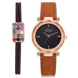 casual dress nude women 2018 - Quartz Watches Lady Watches Female Casual for Women Round Dial Case Comfortable PU Leather Dress Watch 2018 Classic New