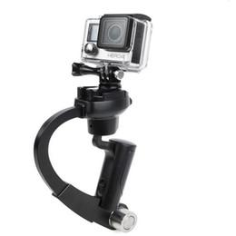 Камера Steadycam Hendheld DV видео Steadicam стабилизатор лук форма мини штатив для Go pro 5 4 3 3+ SJ 4000 sj5000 xiaomi yi от