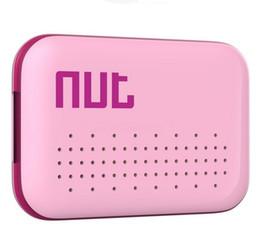Etiquetas de manzana online-Nut mini Smart Finder Tracker Localizador de alarmas Bluetooth para niños Equipaje para mascotas Monedero Teléfono Key Anti Lost Reminder Tag iTag nut 2