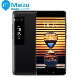 "Wholesale Google Android Mtk - 100% Original Meizu Pro 7 4G LTE 4GB RAM 64 128GB ROM MTK Helio X30 Deca Core 5.2"" 1080P AMOLED Screen Dual Rear Camera Fast Charge"