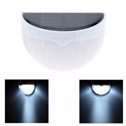 Sensor de luz solar portátil online-Portátil 6 LED Lámpara de jardín al aire libre Decoración de jardín Luces de seguridad solar Luz solar inalámbrica con sensor de luz Linterna