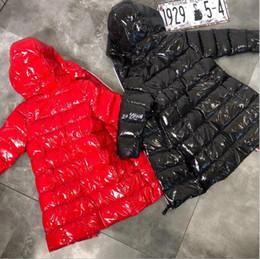 2019 kind weißer mantel neue Marke Kids Daunenjacken weiße Ente Daunenmantel für Kinder Winter warm Outwear Tops Jungen Mädchen Kleidung auf Lager 100-160cm rabatt kind weißer mantel