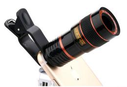 teleskop mobil für iphone Rabatt 8x Zoom Optisches Teleskop Tragbares Handy Teleobjektiv und Clip für das iPhone Smartphone