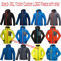 Wholesale soft shell waterproof - 22color Men Waterproof Breathable Softshell Jacket Men Outdoors Sports Coats women Ski Hiking Windproof Winter Outwear Soft Shell jacket