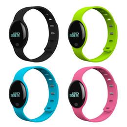 2019 relógios inteligentes h8 Smart watch h8 smartband à prova d 'água à prova d' água bluetooth pulseira esportes rastreador de fitness para o telefone android relógios inteligentes h8 barato