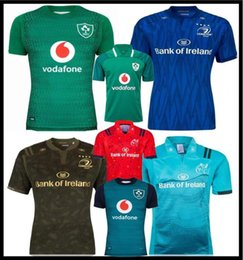 2018 2019 Ireland rugby Jerseys Irish IRFU NRL Munster city Rugby League Leinster alternate jersey 18 19 ulster Irishman shirts size:s-3xl