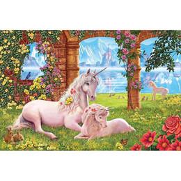 Pittura diamante 5d cavallo Pieno di diamanti ricamo fai da te resina pietra mosaico di arte pittura diamante punto croce imposta decorazione della parete artigianato da pietre diamanti decorazione fornitori