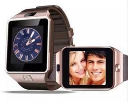 Мужские наручные часы онлайн-DZ09 Bluetooth Smart Watch Wrisbrand Android Smart SIM интеллектуальный мобильный телефон часы запись сна состояние смарт спортивные часы для взрослых детей
