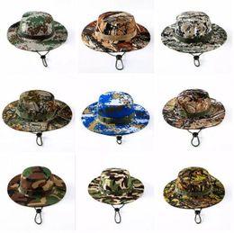 chapeau de l'armée tactique Promotion Tactique Seau Beanie Chapeaux Airsoft Sniper Camouflage Chapeau Népalais Armée Militaire Américain Militaire Accessoires Randonnée Chapeaux