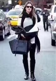 Женская дизайнерская сумка через плечо Сумка через плечо с бамбуковой ручкой 2018 NEW 2810 от