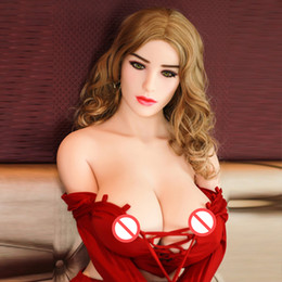 Wholesale realistic vagina butts - Big Breast Sex Doll For Men 152cm Adult Love Breast Ass Real Realistic Vagina Silicone TPE Sex Toy Full Body Pussy Butts