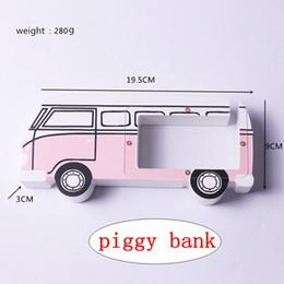 Busdekoration online-Busart Sparschwein-hölzerne Geld-Kasten-Kind-Münzen-Kasten-Inneneinrichtungs-Zusatz-Kindergeschenke 4styles