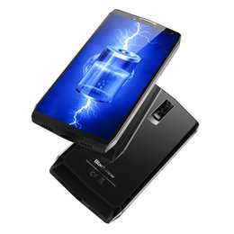 Wholesale android os cell phones - Blackview P10000 PRO 6.0inch Real Touch ID Cell Phone 4G LTE Octa Core 16MP Camera 11000mah battery OS Bluetooth Smartphone