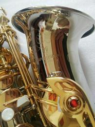Lista de modelos on-line-2018 Nova listagem instrumento musical W037 E saxofone alto plano modelo japonês YANAGISAWA saxofone alto desempenho profissional
