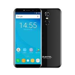 Wholesale Hd Display Mobiles - OUKITEL C8 4G Smartphone 18:9 5.5 Inch HD Display Android 7.0 MT6737 Quad-Core 2GB RAM 16GB ROM 13MP+5MP Mobile Phone
