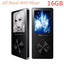 Wholesale Music Mp - Aluminum Alloy MP3 Player 16gb with Built-in Speaker hifi player hifi Speaker fm IQQ X08 mp-3 Music mp3 16gb mp 4 walkman