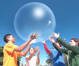 caráter inflatables Desconto 2018 novo Incrível Bolha Bola Engraçado Brinquedo De Água-cheio TPR Balão Para Crianças Adulto Brinquedos Infláveis Ao Ar Livre